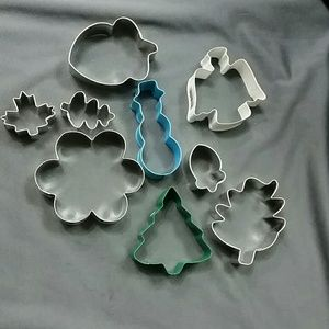 Cookie cutters fall & holiday season autumn 9ct